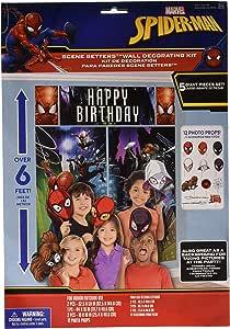 Spider-Man Webbed Wonder Scene Setter with Props