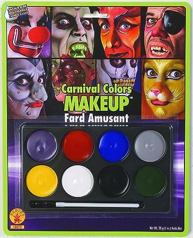 amazon com rubie s costume co carnival color makeup costume toys