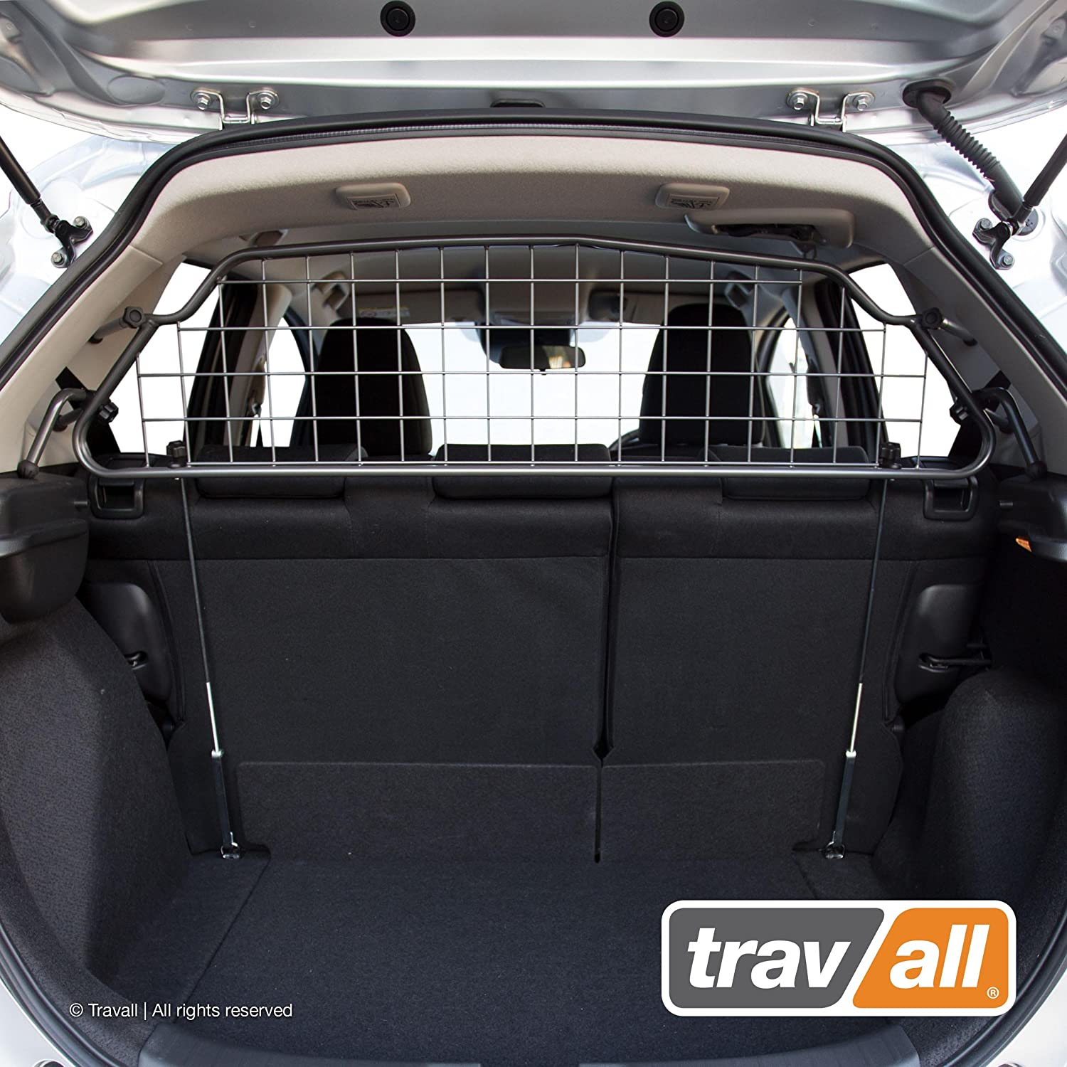 Travall Guard Compatible with Honda Fit 2013-Current TDG1498 – Rattle-Free Steel Pet Barrier