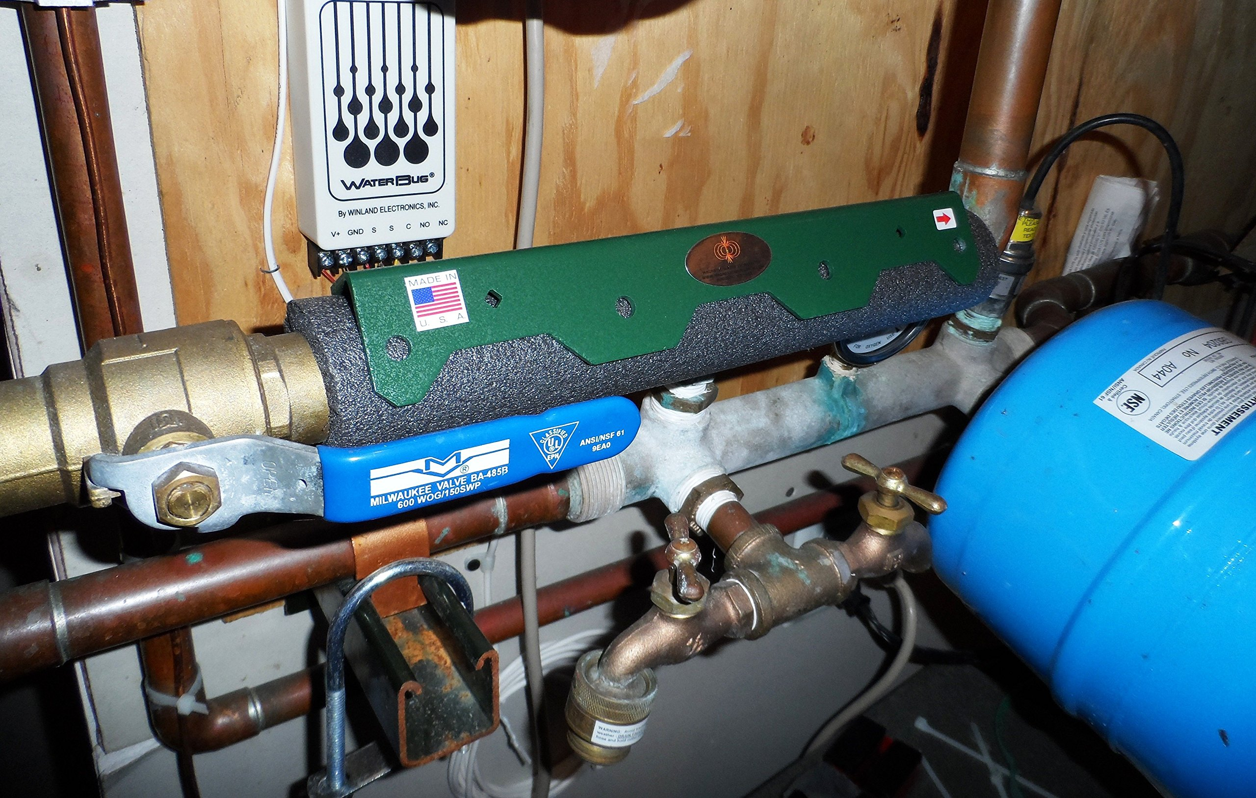 Magnetic Water Softener/Treatment - Farm & Ranch-Single Bar- No Salt Water Softener