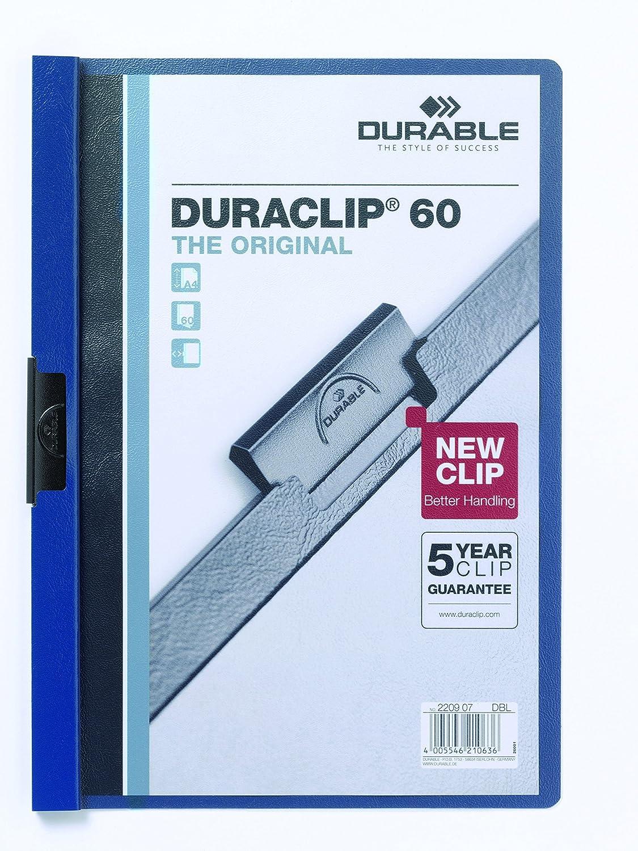 Durable 2209-32 Klemmmappe petrol