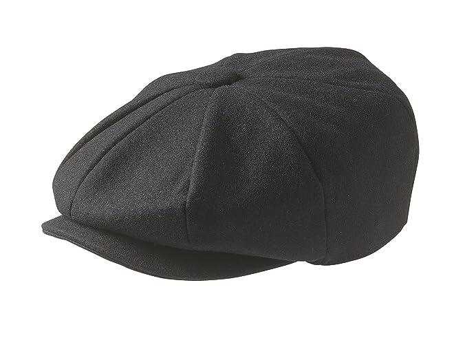 26771f33d Peaky Blinders Men's 8 Piece 'Newsboy' Style Flat Cap Wool