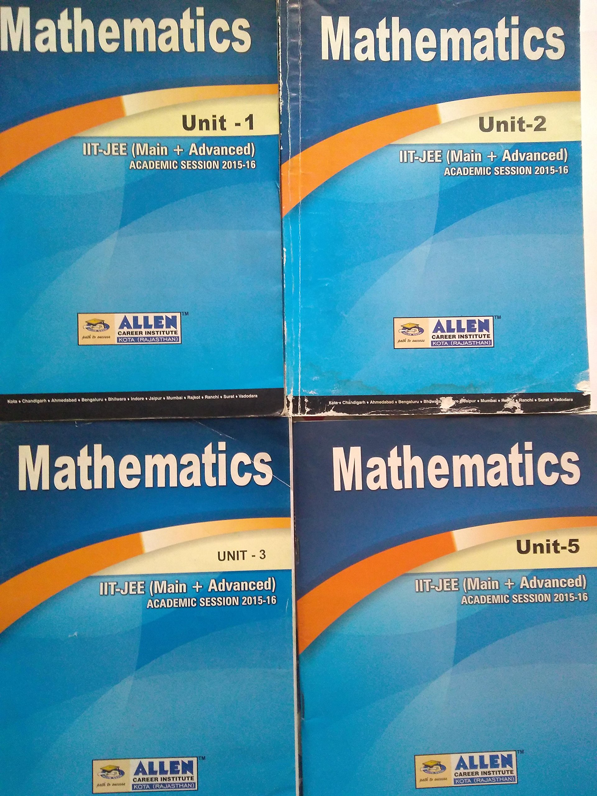 Amazon in: Buy Allen Study Material for JEE: Mathematics Book Online