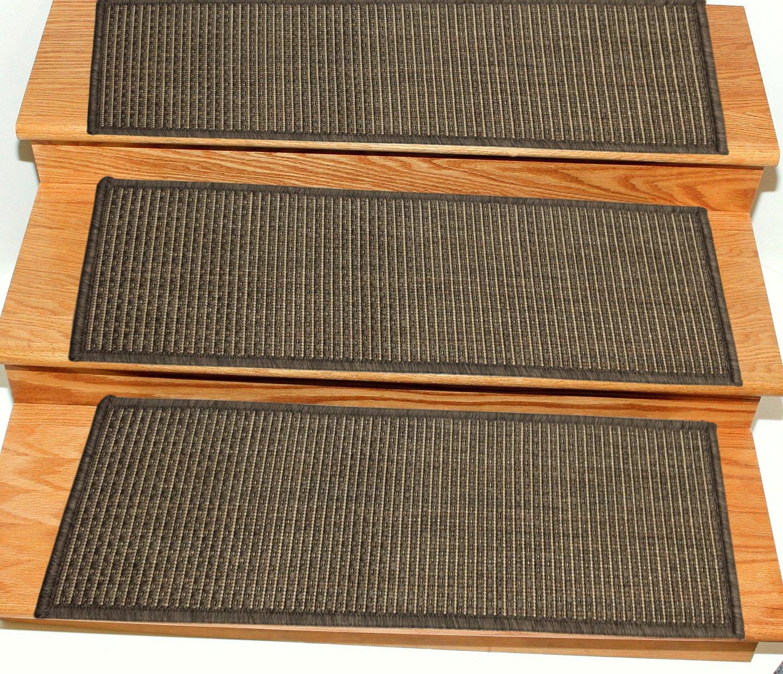 Amazon.com: Ottomanson Jardin Collection Set of 7 Solid Design 8.5 ...