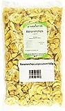 Naturix24 Bananenchips ungezuckert – Beutel, 3er Pack (3 x 500 g)
