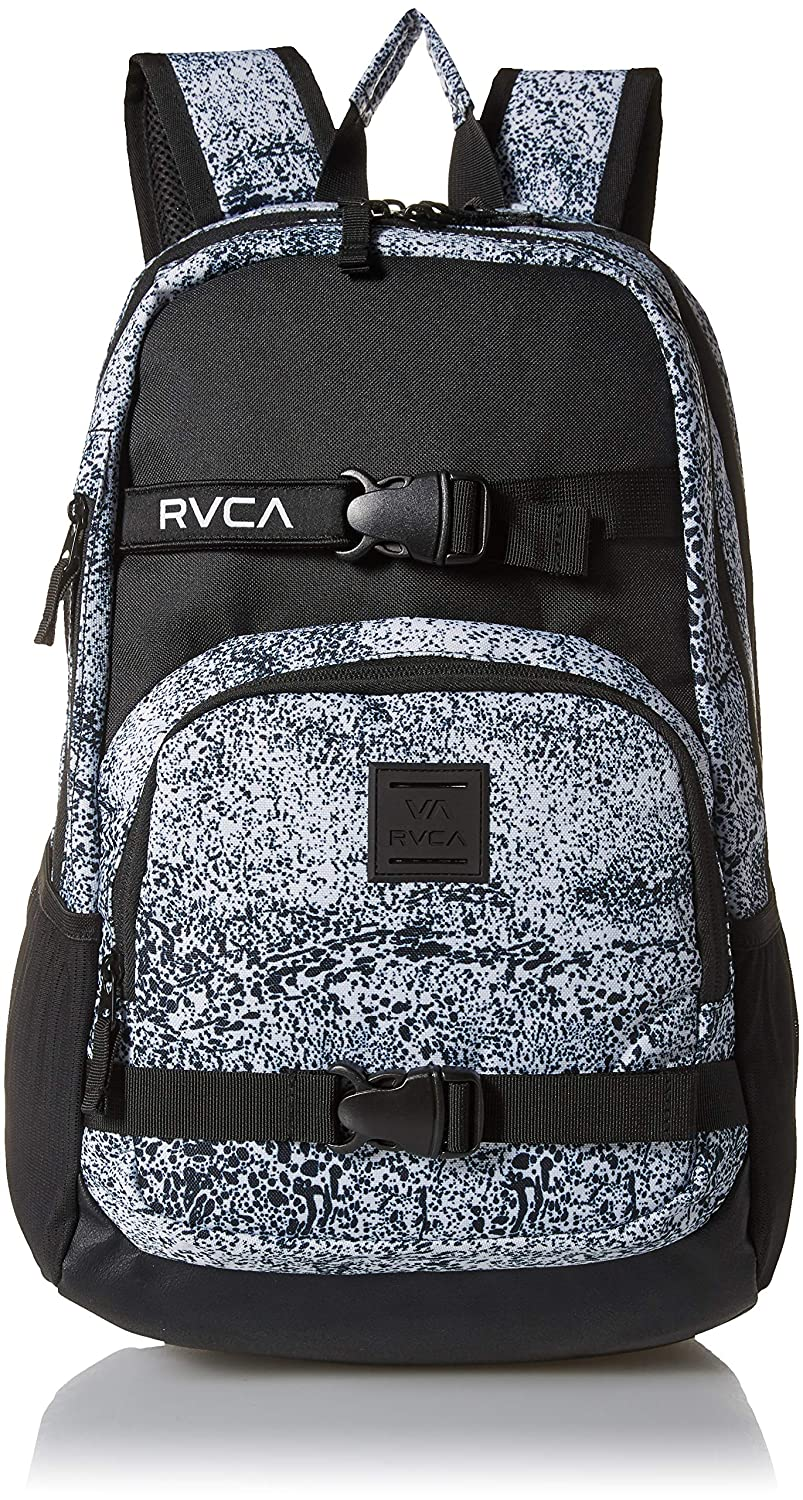 Amazon.com: RVCA Mens Estate Delux Backpack, antique/white One Size: Clothing