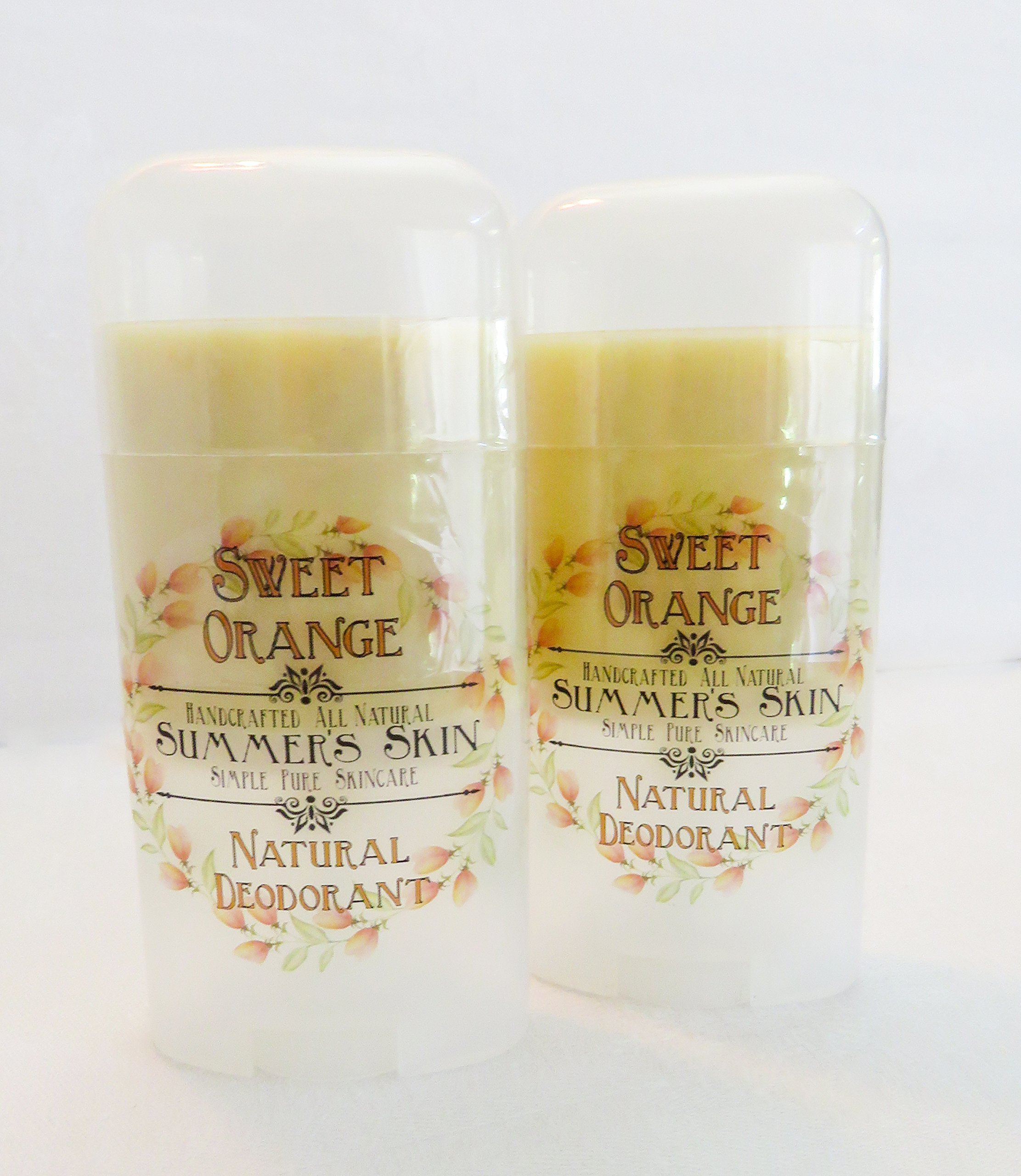 Sweet Orange Natural Deodorant by Summer's Skin