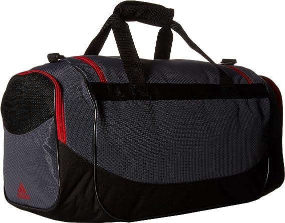 Amazon.com  adidas Unisex Defense Medium Duffel Bag Lead Light Scarlet One  Size  Clothing 604b79a431c78
