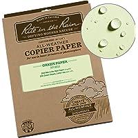 "Rite In The Rain Weatherproof Copier Paper, 8 1/2"" x 11"", 20# Green, 200 Sheet Pack (No. 9511)"
