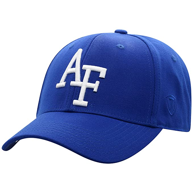timeless design 37d14 ef049 Top of the World Air Force Falcons Men s Memory Fit Hat Icon, Royal, One