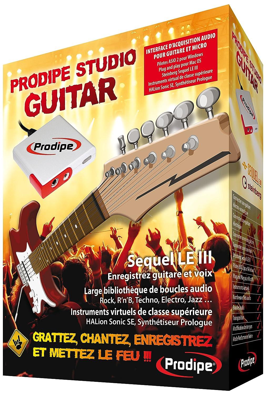 PRODIPE STUDIO GUITAR - Interfaz de audio USB: Amazon.es ...