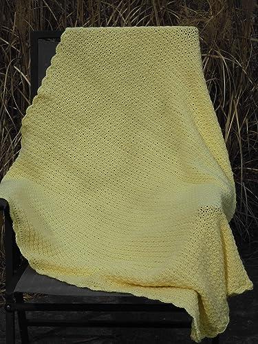 Hand Crocheted Afghan Throw