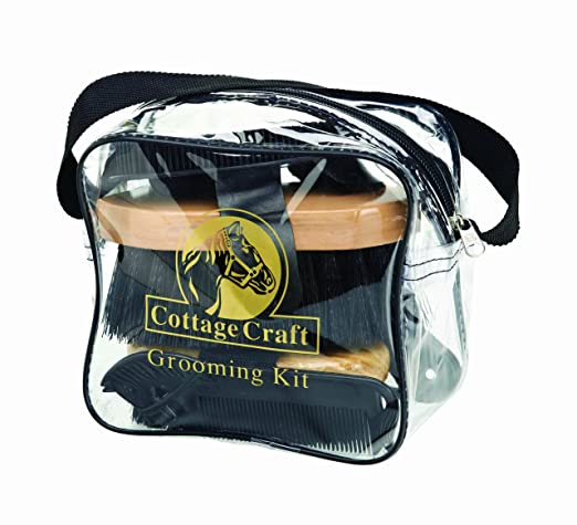 6 opinioni per Cottage Craft- Kit per pulizia del cavallo, colore: Nero