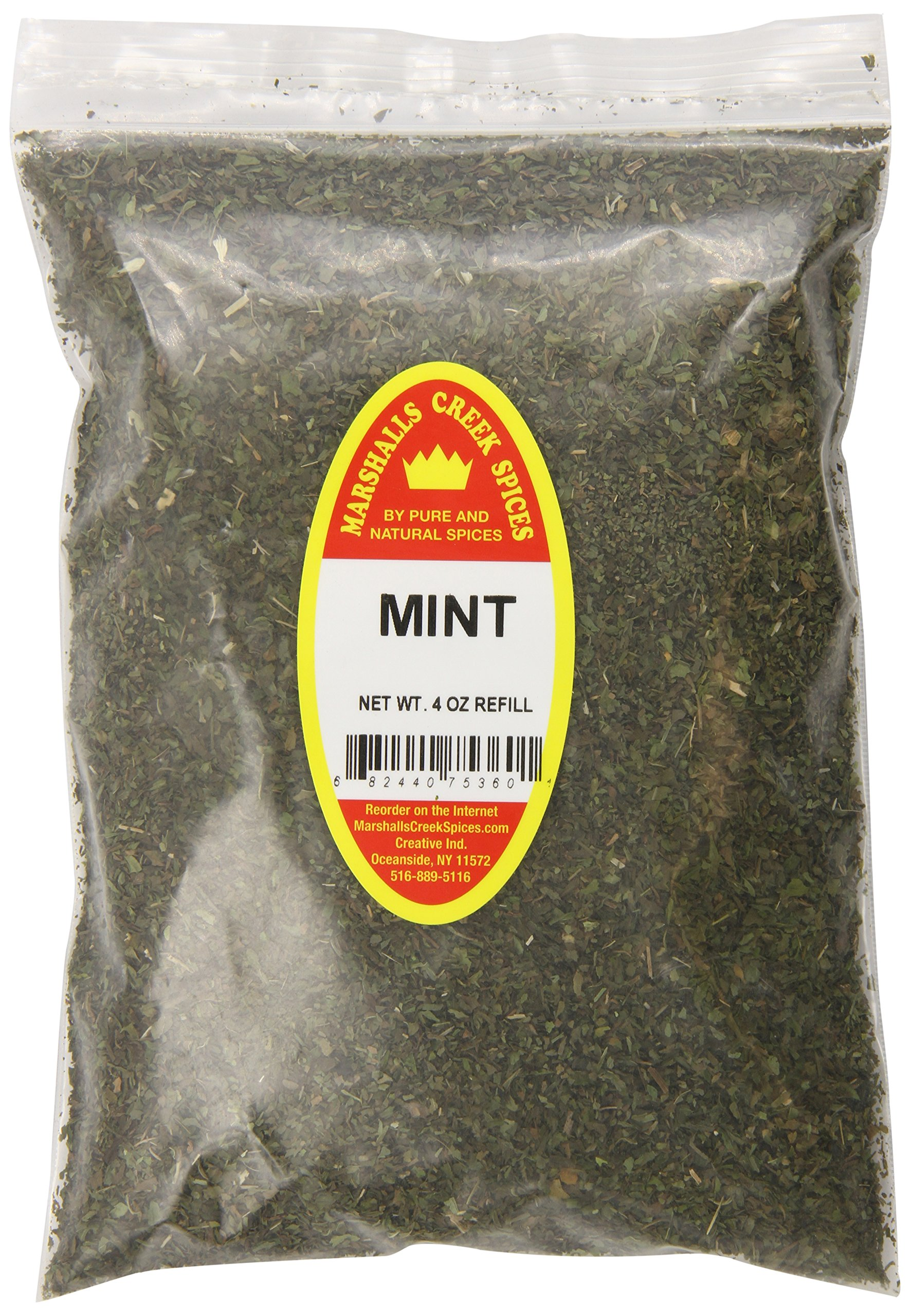 Marshalls Creek Spices X-Large Refill Mint, 4 Ounce