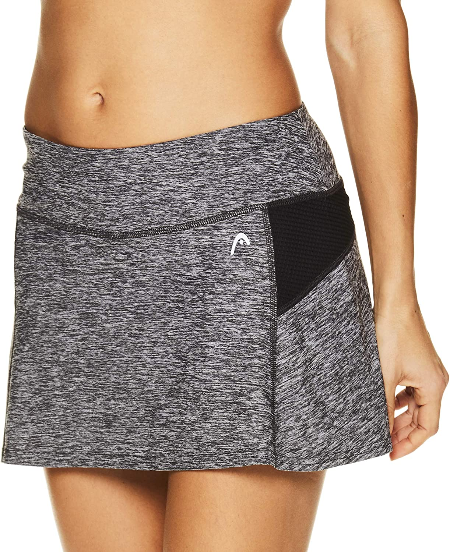 Performance Training /& Running Skirt HEAD Womens Athletic Tennis Skort