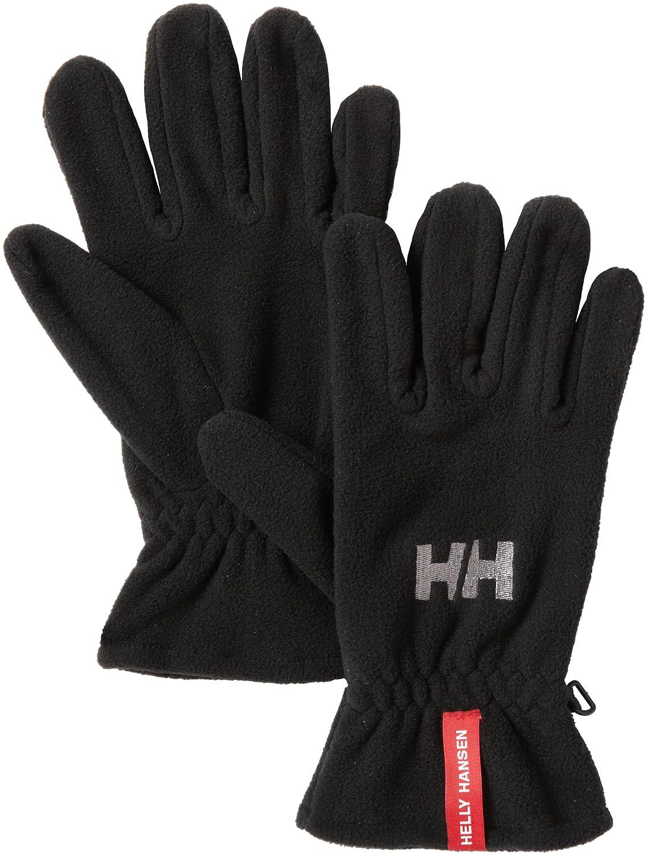 Helly Hansen Fleece Glove, Black, Medium 67115