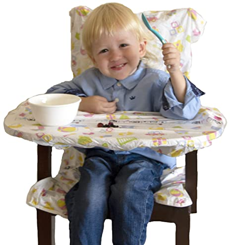 Buy Mamaped Disposable Multicolour Baby Feeding Chair And Table