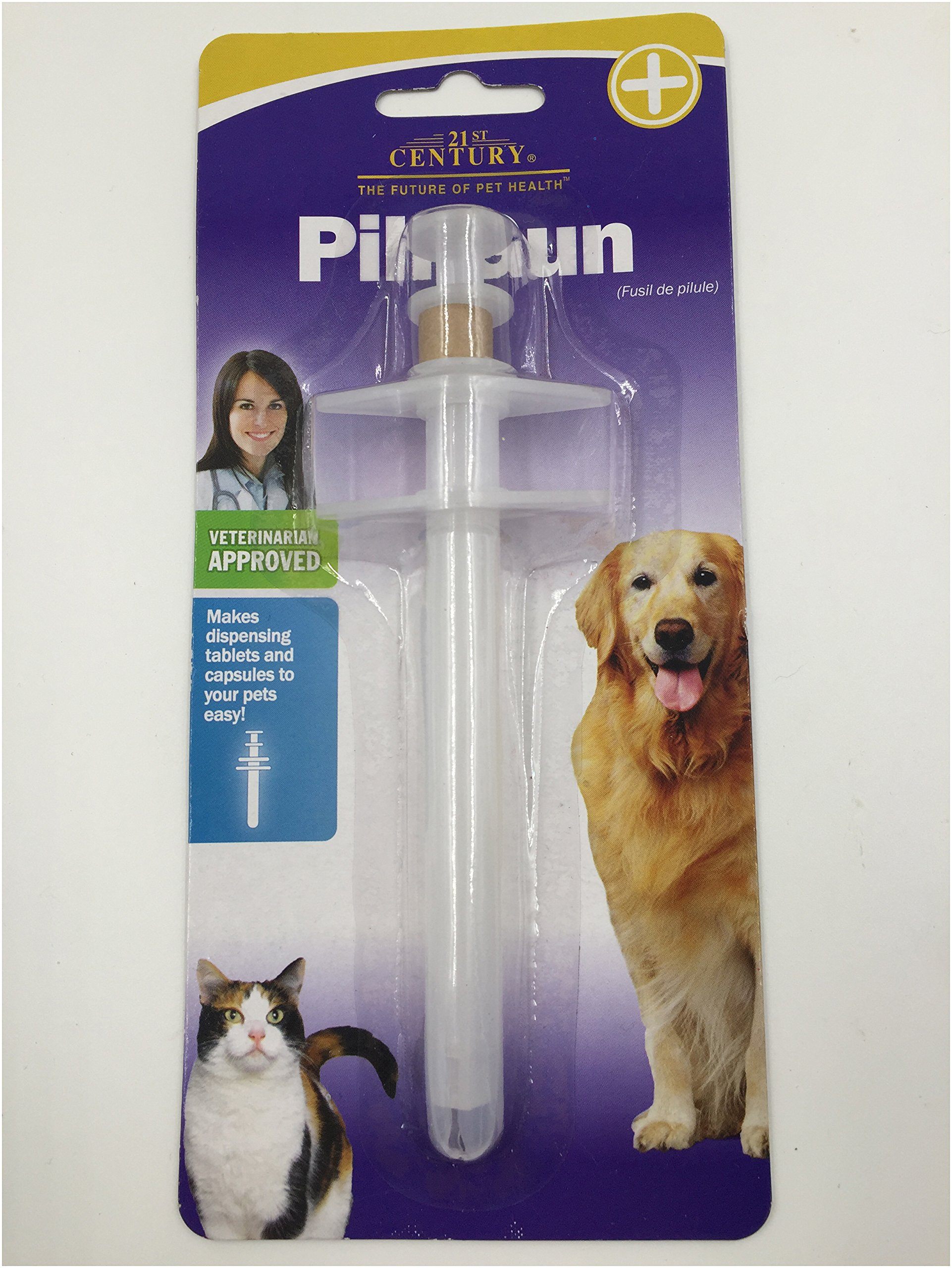 Pill Gun Pet Handy Pill Dispenser To Oral Tablet Or Capsule For Dog Cat, 1 Piece