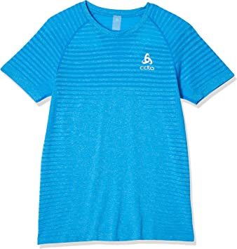 Odlo T-Shirt L//S Crew Neck Seamless Element Camiseta Hombre