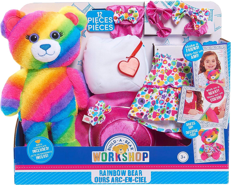 Build A Bear Plush - Rainbow Bear