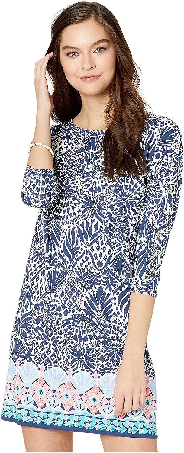 NWT Lilly Pulitzer Vivvy Dress High Tide Navy By Land Or By Sea Sz 2XS XS S M L