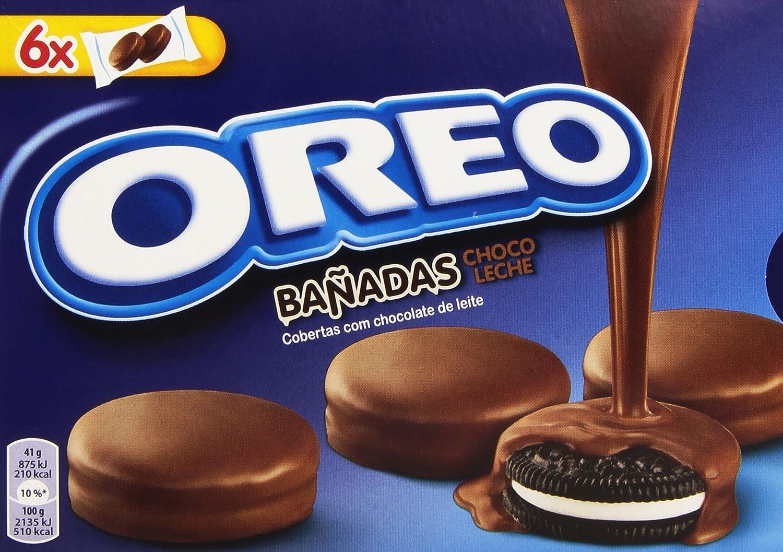 Oreo Baadas - Galletas Cubierto de Chocolate con Leche - 6 bolsas ...
