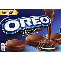 Oreo Baadas - Galletas Cubierto de Chocolate con Leche - 6 bolsas de 2 galletas -