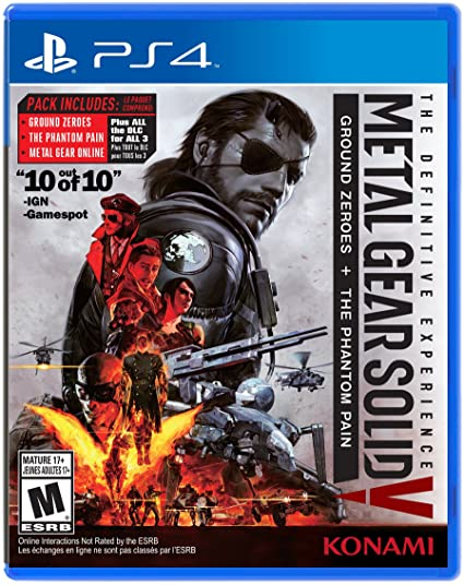 [Amazon Canada]Metal Gear Solid V: The Definitive Experience - PS4/XB1 - $39.99
