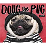 doug the pug calendar 2017 doug the pug 2016 wall calendar doug the pug leslie 8400