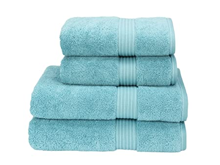 Christy Towels Supreme Hygro Bathroom Towels - Lagoon Blue  Amazon ... 3d58a6bb5