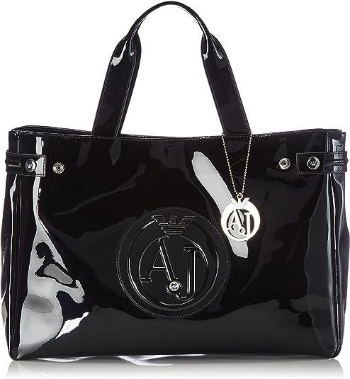 Armani Jeans Leder Tasche Shopper Neu + Zertifikat