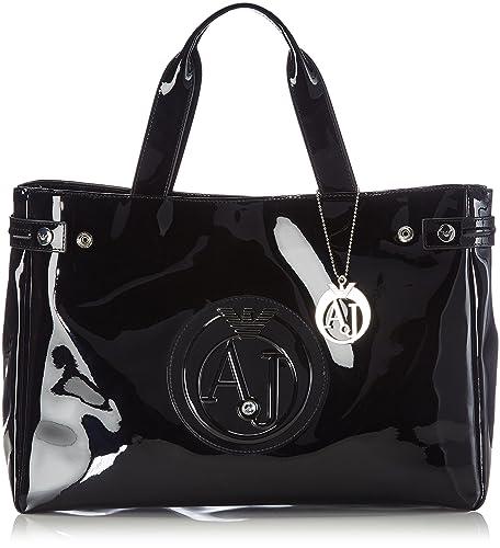 Armani Jeans Grand sac porté main Armani Jeans Noir 9bkjC
