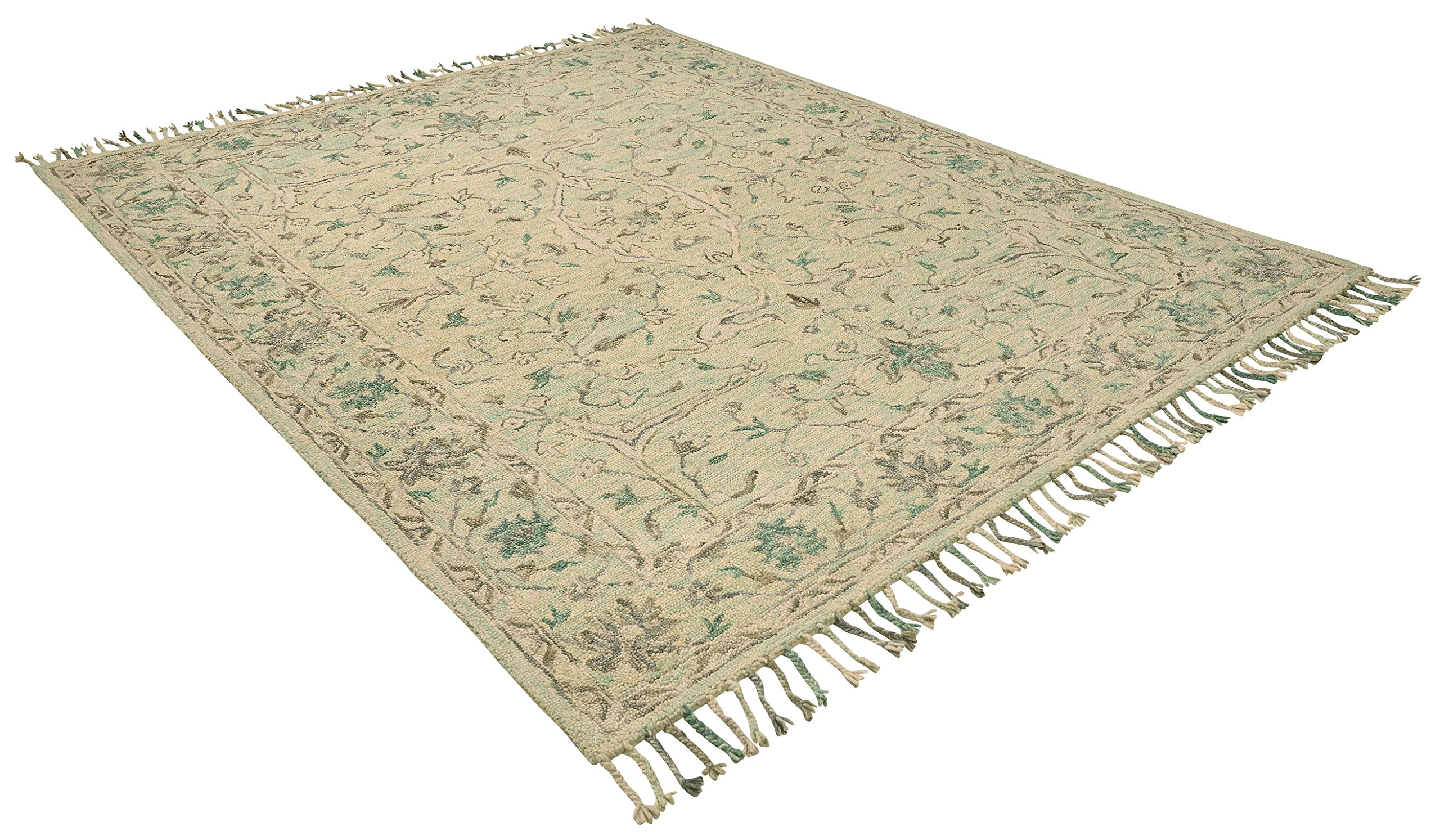 Stone & Beam Serene Transitional Wool Area Rug, 8' x 10', Multi by Stone & Beam (Image #4)