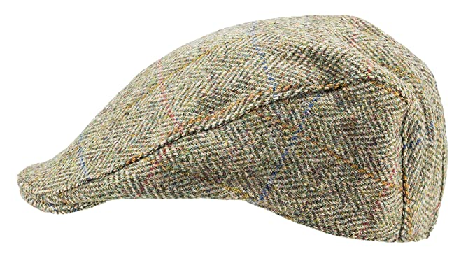 2b8a01af154 Harris Tweed.Made in Scotland.The Dundee  Brad Pitt  Style Flat Cap ...