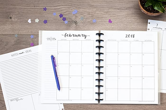 Amazon.com: 2018 Weekly and Monthly Academic Calendar for Disc ...