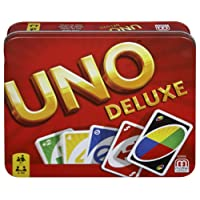 Mattel Games UNO Deluxe Jeu de Société et de Cartes, K0888
