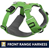 RUFFFWEAR Ruffwear - Front Range No-Pull Dog Harness with Front Clip, Meadow Green (2017), X-Small