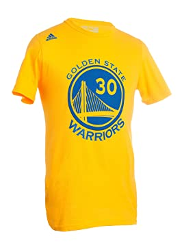 Adidas - Camiseta de NBA Golden State Warriors-Stephen Curry # 30-Mesh Logo Camiseta - 1816893, S, Dorado: Amazon.es: Deportes y aire libre