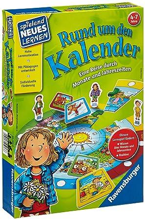 Ravensburger 25057 Niños Juego de Mesa de Aprendizaje - Juego de ...