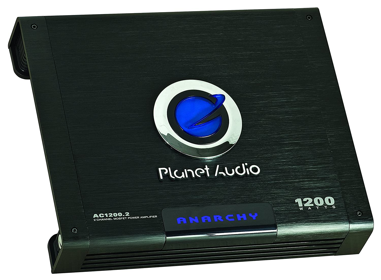 Planet Audio Ac12002 Anarchy 1200 Watt 2 Channel 4 1000w Mosfet Amplifier Circuit Ohm Stable Class A B Full Range Bridgeable Car With Remote Subwoofer
