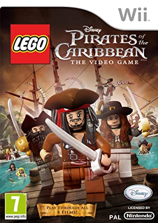 Lego Pirates Of The Caribbean Wii Amazoncouk Pc Video Games