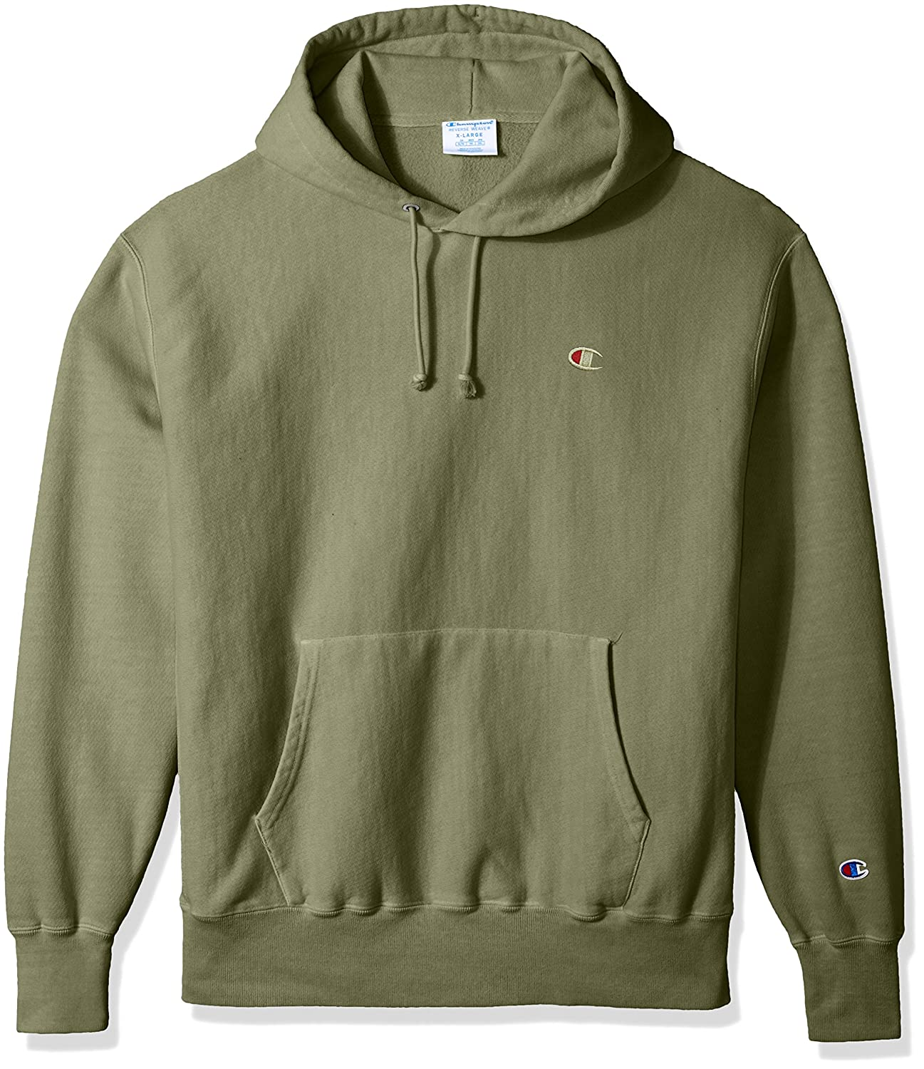 93ba0aab4e Amazon.com  Champion LIFE Men s Reverse Weave Pullover Hoodie  Clothing