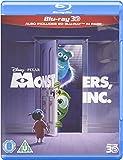 Monsters, Inc. (Blu-ray 3D + Blu-ray) [2002] [Region Free]