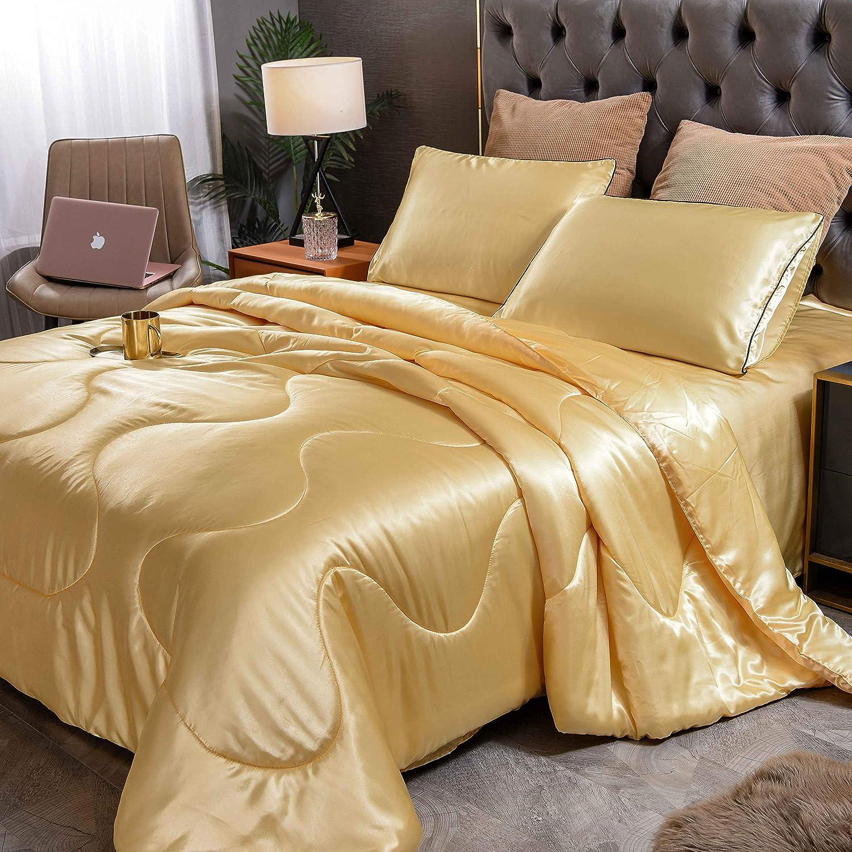 Handmade Decorative Pillowcase with Applique Santas