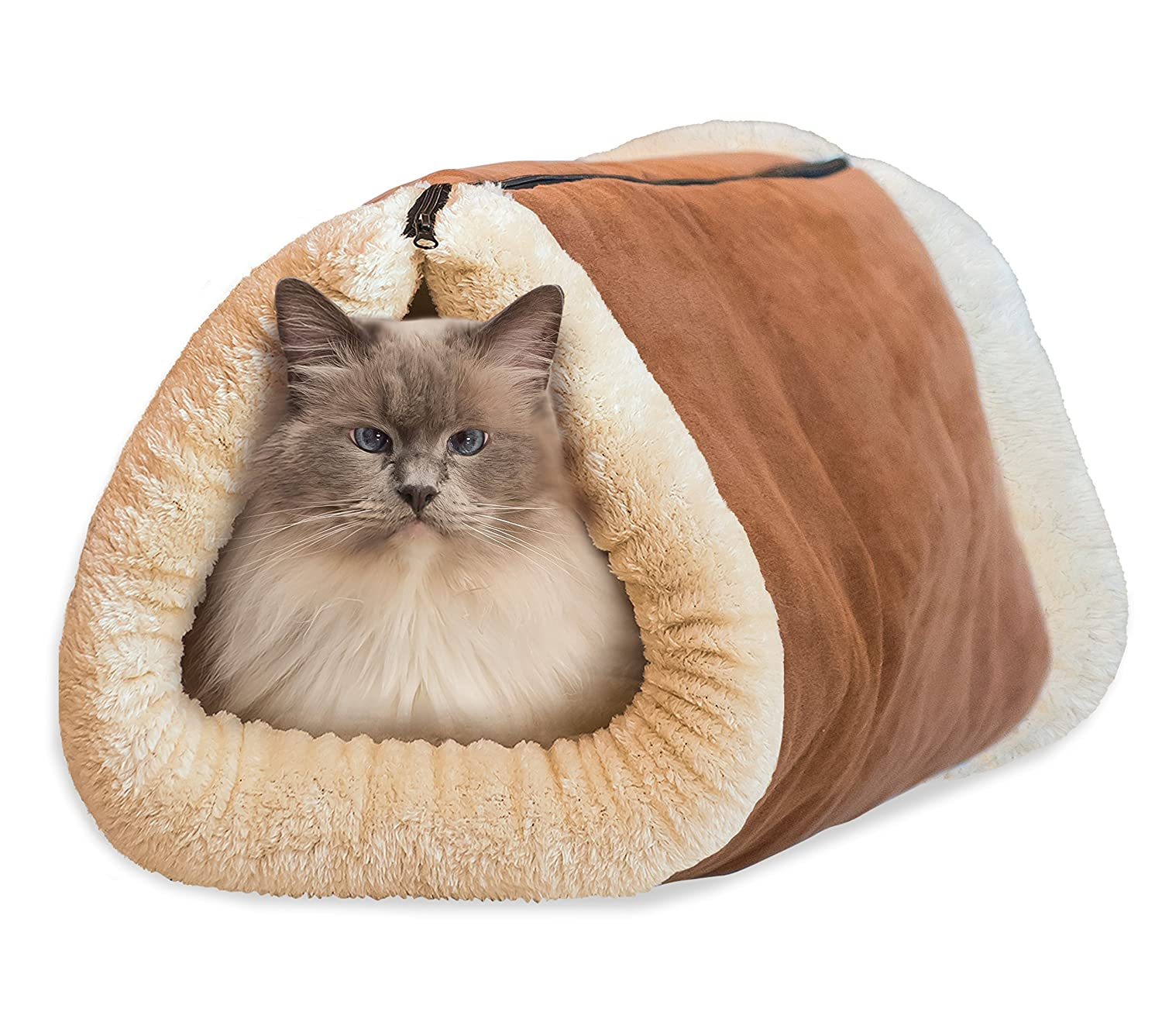 Amazon Kitty Shack 2 in 1 Tube Cat Mat and Bed Pet