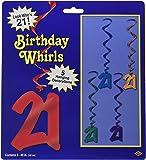21 Whirls (asstd colors)    (5/Pkg)