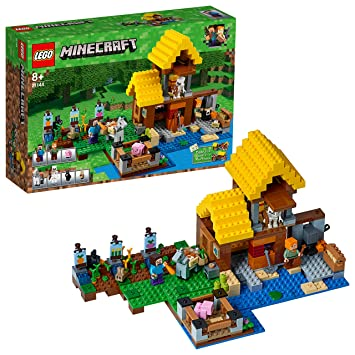 590c29aa5 LEGO Minecraft The Farm Cottage 21144 Playset Toy