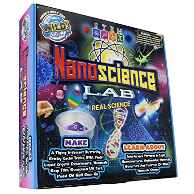 WILD! Science Nanoscience Lab - Science Kits for Kids - Amazing STEM Experiments with Tiny Particles - Easy to Follow Activities with Real World Applications: Industrial & Scientific