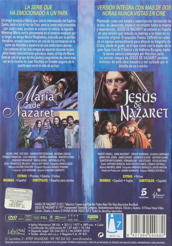 María y Jesús de Nazaret [DVD]: Amazon.es: Giancomo Campiotti / Franco Zeffirelli: Cine y Series TV