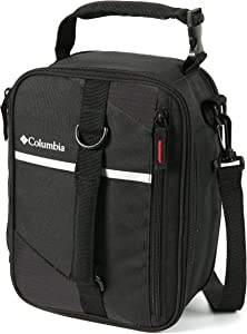 Columbia Grid Line Expandable Insulated Lunch Pack, Black